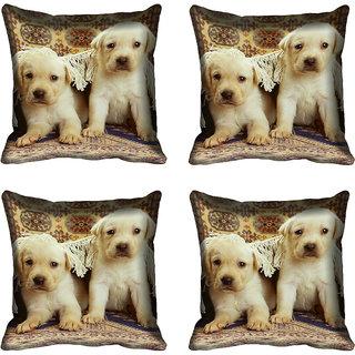 meSleep Dog Digital printed Cushion Cover (18x18) - 20CD-68-204-04
