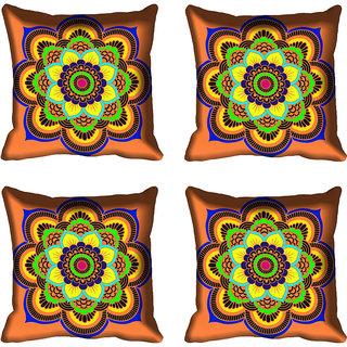 meSleep Multi Floral Digital Printed Cushion Cover 18x18 - 20CD-82-058-04