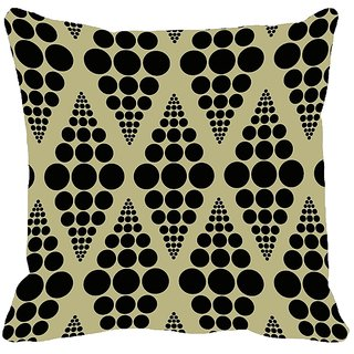 meSleep Abstract Digitally Printed Cushion Cover (12x12) - 12CD-23-01