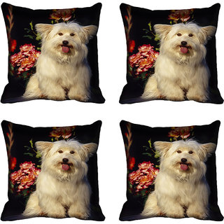 meSleep Dog Digital printed Cushion Cover (18x18) - 20CD-68-192-04