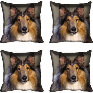 meSleep Dog Digital printed Cushion Cover (18x18) - 20CD-68-205-04