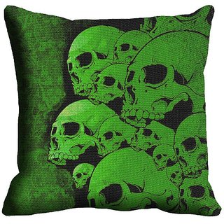 Green Digitally Printed Cushion Covers - 12CD-05-00033