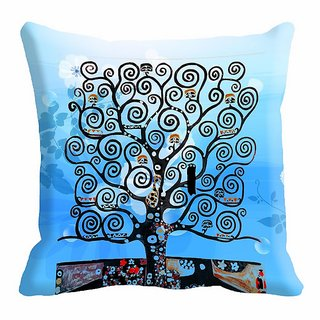 meSleep Tree Digitally Printed  12x12 inch Cushion Cover - 12CD-24-16