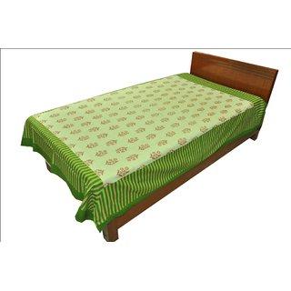 Designer Exclusive Ethinic Floral Print King Size Single Bed Sheet SRB2139