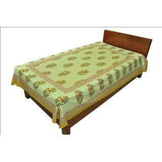 Latest Designer Paisley print Single Bed Sheet Bed Spread SRB2144