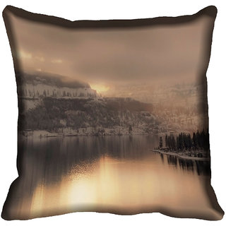 meSleep Nature Digitally Printed Cushion Cover (12x12) - 12CD-46-093