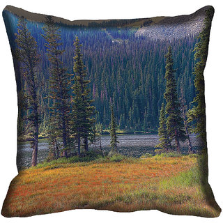 meSleep Nature Digitally Printed Cushion Cover (12x12) - 12CD-50-348