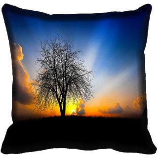 meSleep Nature Digitally Printed Cushion Cover (12x12) - 12CD-46-147