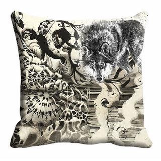 meSleep Abstract Animal Cushion Cover (12x12) - 12CD-92-186
