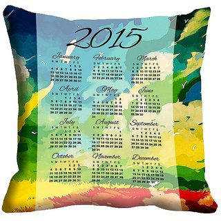 meSleep Spectacular New Year 2015  Digitally Printed Cushion Covers - 18CD-22-04