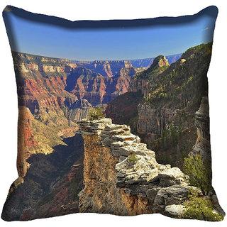 meSleep Nature Digitally Printed Cushion Cover (18x18) - 18CD-45-126