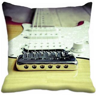 meSleep Guitar 3D Cushion Cover - (18x18) - 18CD-36-45