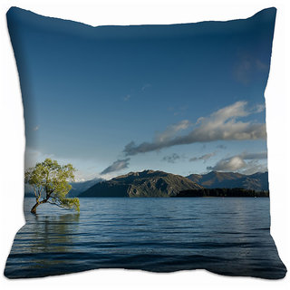 meSleep Picturesque 3D Cushion Cover - (18x18), Cushion Covers - 18CD-36-49