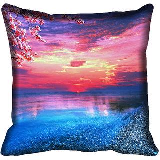 meSleep Nature Digitally Printed Cushion Cover (18x18) - 18CD-50-279