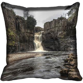 meSleep Nature Digitally Printed Cushion Cover (18x18) - 18CD-50-302