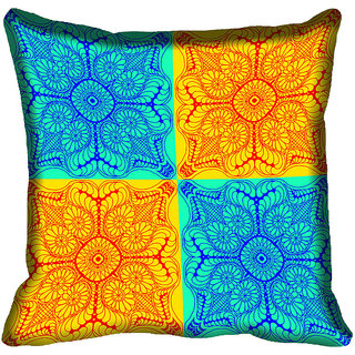 meSleep Pattern Digital Printed Cushion Cover 12x12 - 12CD-80-021