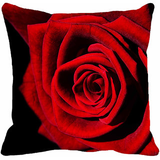 meSleep Rose Digitally Printed 18x18 inch Cushion Covers - 18CD-15-64