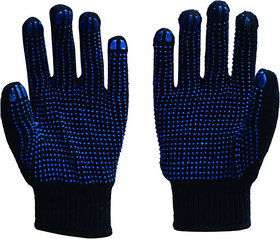 Home Cleaning Polka Dotted Hand Gloves