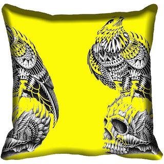 meSleep Abstract Digitally Printed Cushion Cover (18x18) - 18CD-45-033