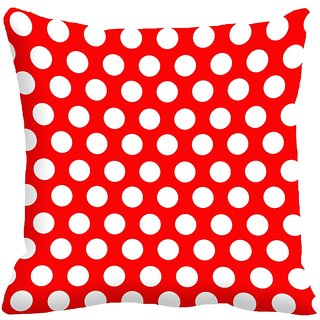 meSleep Dotted Digitally Printed 18x18 inch Cushion Covers - 18CD-25-16