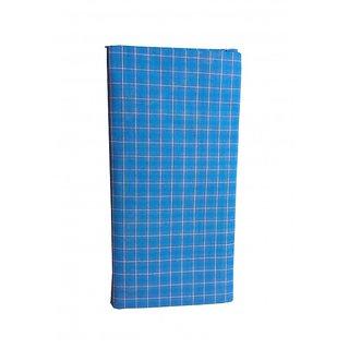 Aadish Small Blue Checked Lungi