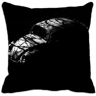 meSleep Vintage Car 3D Cushion Cover (18x18) - 18CD-35-13