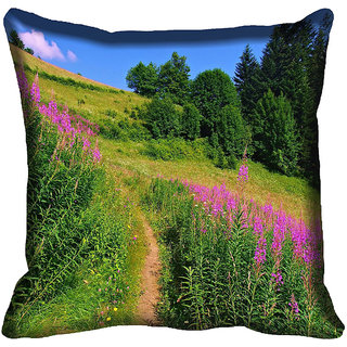 meSleep Nature Digitally Printed Cushion Cover (20x20) - 20CD-50-268