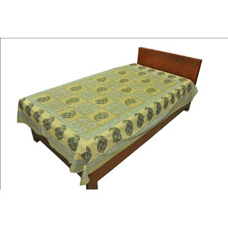 Latest Designer Paisley print Single Bed Sheet Bed Spread SRB2148