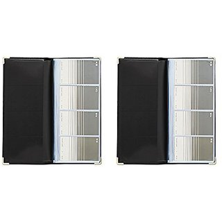 Buy Rolodex Business Card Book 96 Card Black And Gold 67473 2