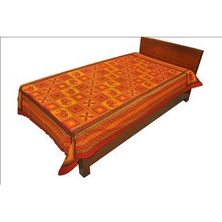 Latest Designer Paisley print Single Bed Sheet Bed Spread SRB2156