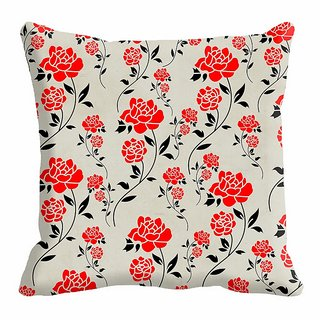 meSleep Rose Lady Digitally Printed  20x20 inch Cushion Cover - 20CD-24-39