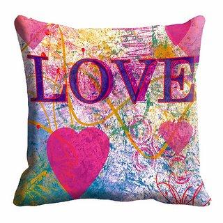 meSleep Heart Digitally Printed 20x20 inch Cushion Cover - 20CD-25-19
