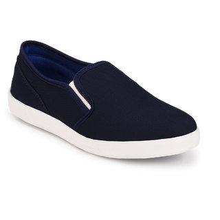 Groofer Men's Blue Casual Slip On Shoes