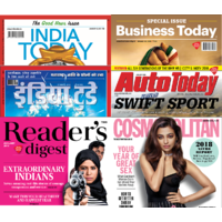 India Today Group Magazines Digital Subscription - 6 Months Any 2 Magazines
