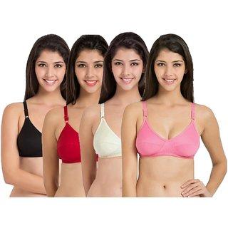00128ecbab Buy Tube bra black+white set of 4 for girls Online - Get 48% Off