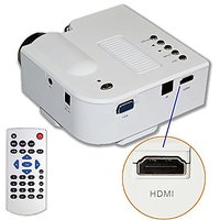 B1 LED LCD (QVGA) Mini Video Projector - International