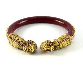 Sizzling bangles kara  colour red