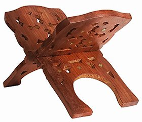 Wooden Folding Reading Bible Holy Book Stand Holder, Home Decorative