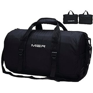 MIER Foldable Small Duffel Bag Lightweight for Sports 8eaf61484