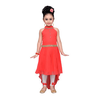 cca0589c6bf Buy Adiva Girl s Party Wear High Low Dress for Kids Online - Get 75% Off