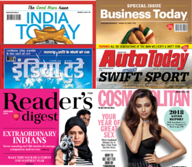 India Today Group Magazines Digital Subscription - 1 Month Any 2 Magazines
