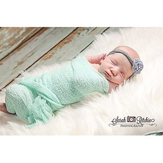 Buy Mint Stretch Knit Photography Wrap 16x64 Stretch Knit Newborn