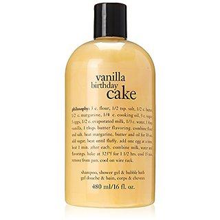 Buy Philosophy Vanilla Birthday Cake Bath Care For Unisex 16 Ounce