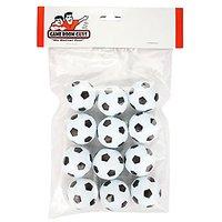Set of 12 Soccer Ball Style Foosballs for Tornado, Dynamo or Shelti Tables
