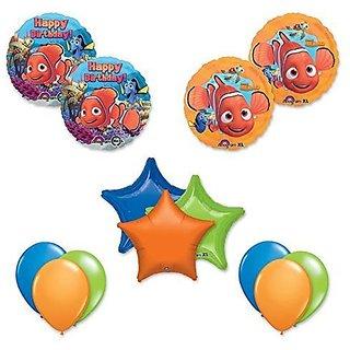 Finding Nemo 13 Pc Birthday Party Balloon Decoration Kit