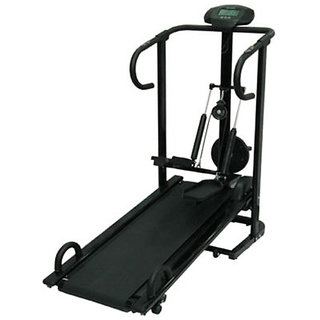 Lifeline 4 In 1 Manual Treadmill , Jogger Twister Stepper P. Bars
