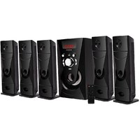 Krisons Bazooka 5.1 Bluetooth Multimedia Home Theatre with 5.25'' woofer