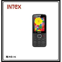 Intex Lions G2 Dual Sim Mobile Phone - Wireless FM - Bl