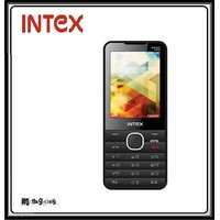 Intex Mega 2400 Dual Sim Mobile Phone With 2400 Mah Bat