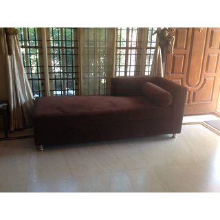 brown color sofa cum bed
